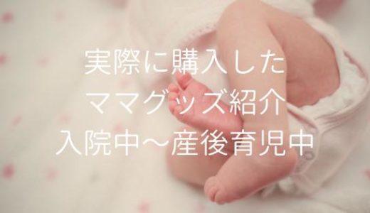 実際に購入した出産準備ママグッズ【チェックリストあり】